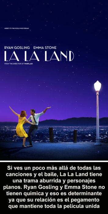 Crítica atroz La La Land