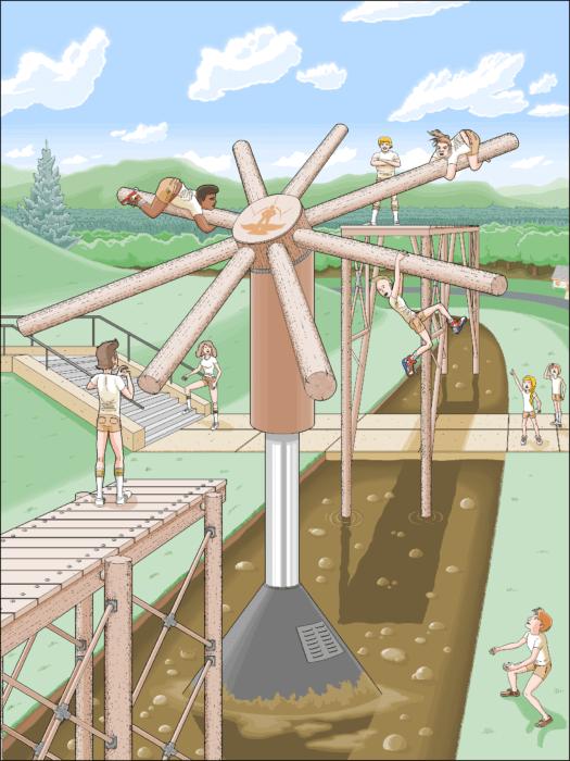 juegos chicos parque