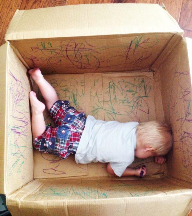 creatividad en una caja