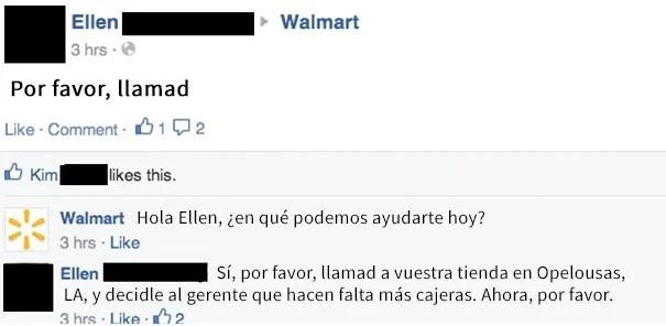 abuela tiene petición para walmart