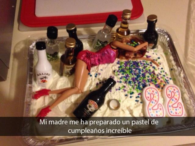 El mejor pastel de cumpleaños