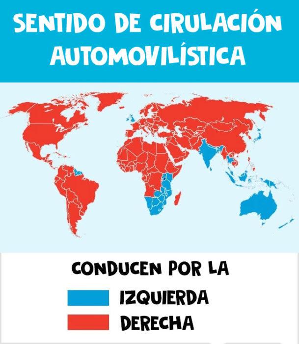 circulación autos mundo