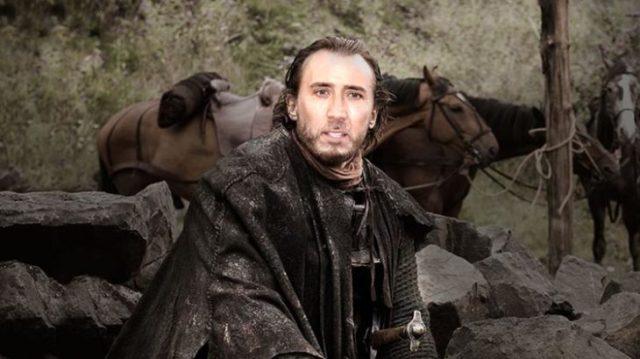 Eddar Stark photoshop de Nicolas Cage