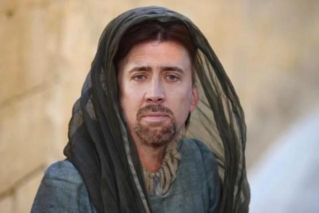 Photoshop utilizado en integrantes de GOT para colocar a Nicolas Cage