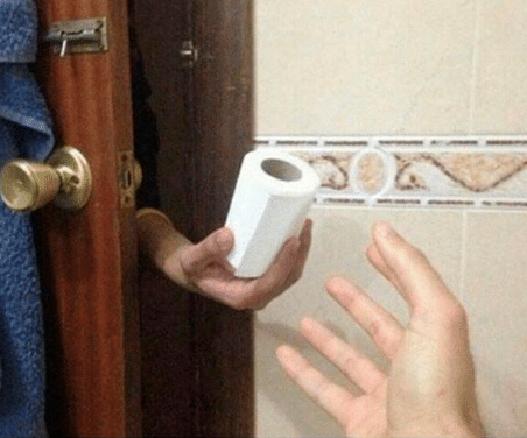 le lleva papel de baño