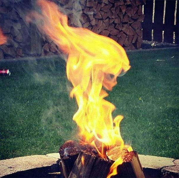 La dama de fuego