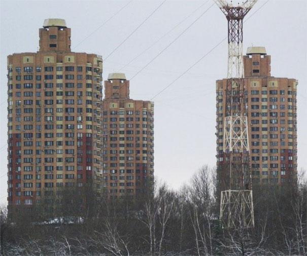 Los 3 edificios