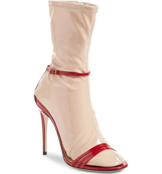 zapatos con cuero calceta integrada