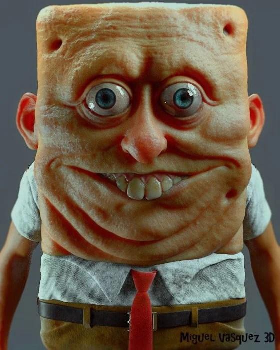 Bob Esponja; Miguel Velazquez 3D