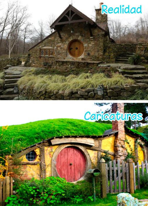 Cabaña de el hobbit