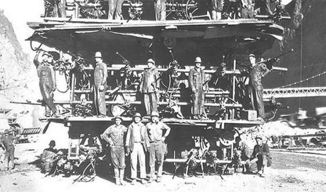 trabajadores de la encarcelada hoover
