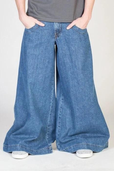los jeans de mamut están de vuelta