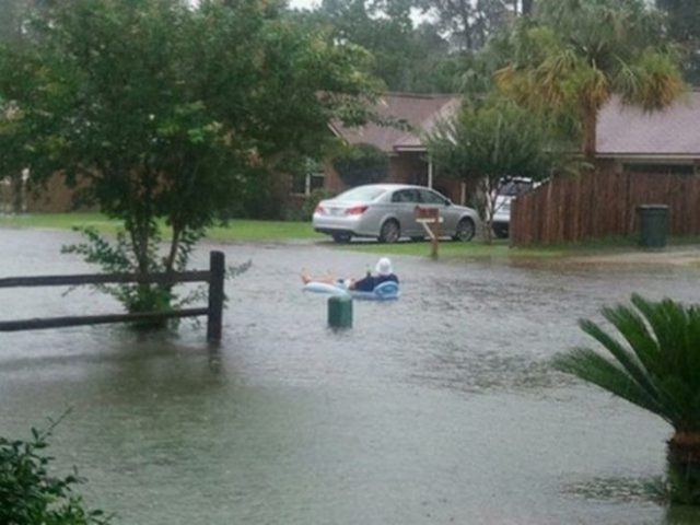 para que molestarse de las inundaciones