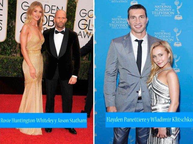parejas distinta altura