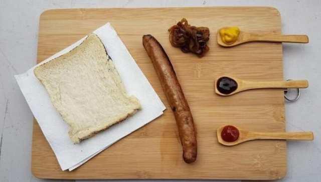 Hot dog ingredientes