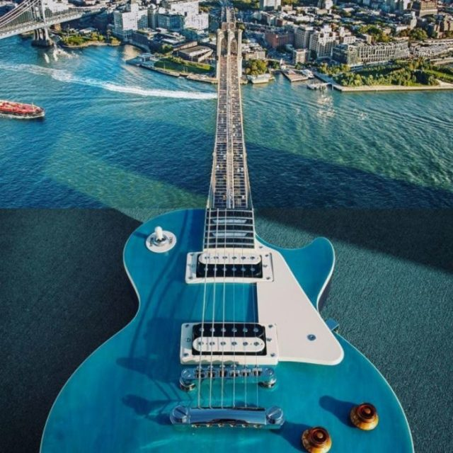 Fotomontajes - guitarra puente
