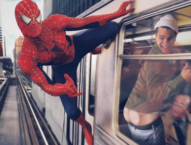 spiderman photoshop