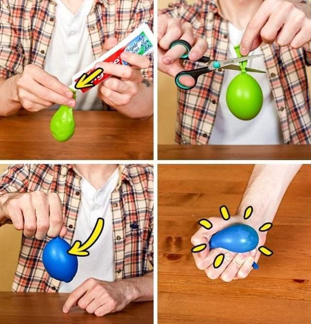 pelota agobio harina globos