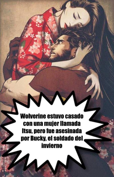 universo marvel datos curiosos superhéroes esposa wolverine