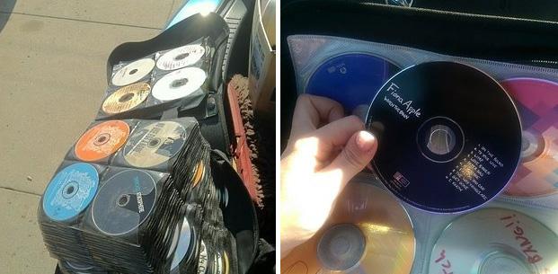 la moda de los cds