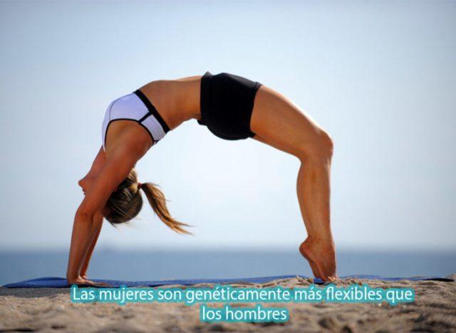 por eso hay pero mujeres en yoga