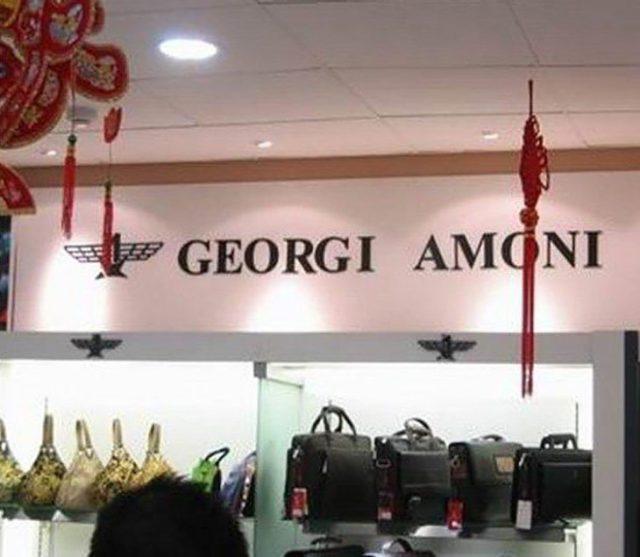 Bolsas imitación de Giorgio Armani