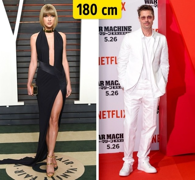 180cm Celebridades hollywood