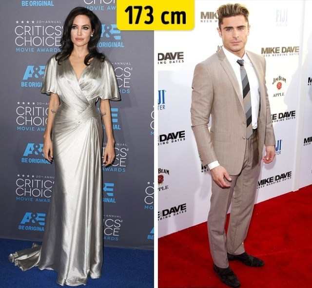 173cm Celebridades hollywood zac efron