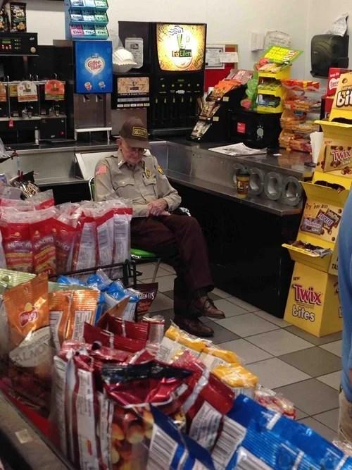 Vigilante de comida chatarra