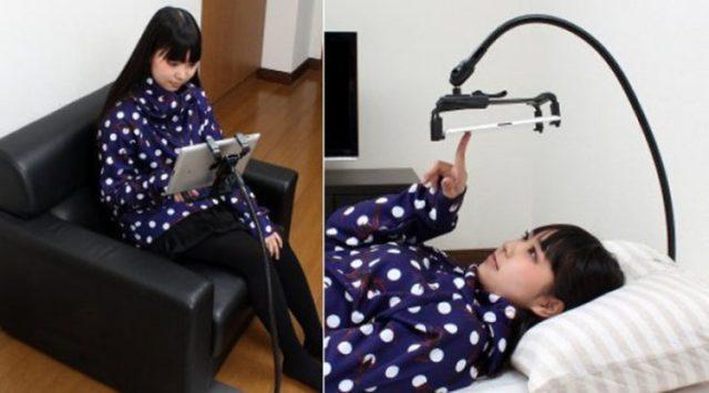 Sujeta tablet Japón