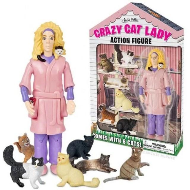 la señora de los gatos