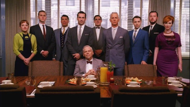 mad men y su elenco