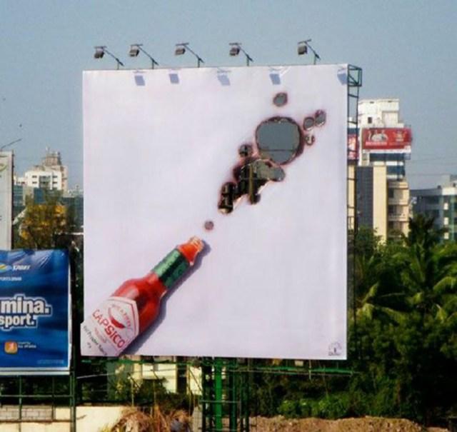 Salsa tabacos publicidad creativa