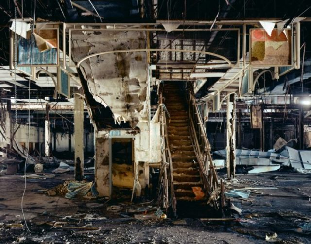 Mall destruido en la pelicula de blue brothers