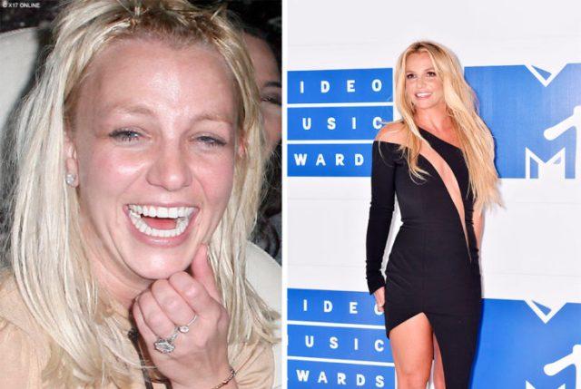 Britney antes y ahora
