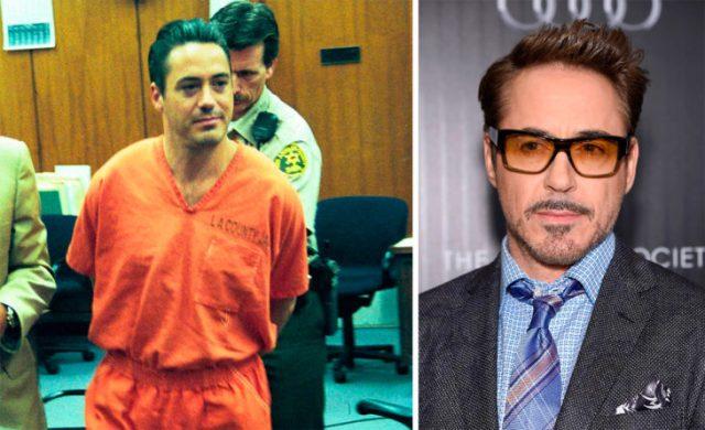 Robert antes y ahora