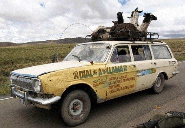carro con llamas