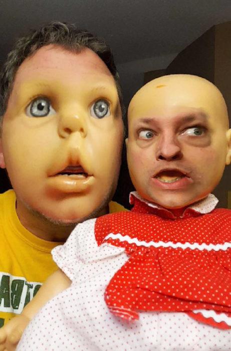 Face swap muñeco