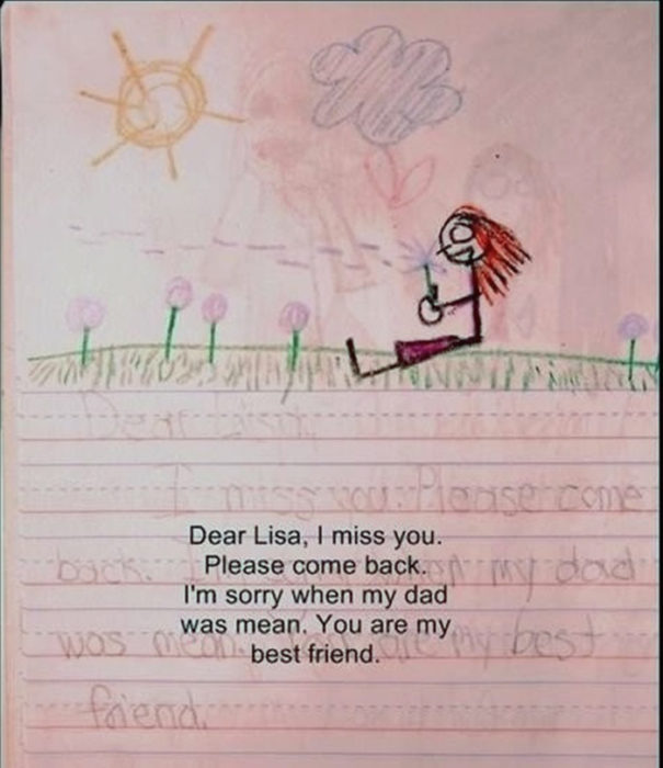 Diario de niña y amiga imaginaria solitaria