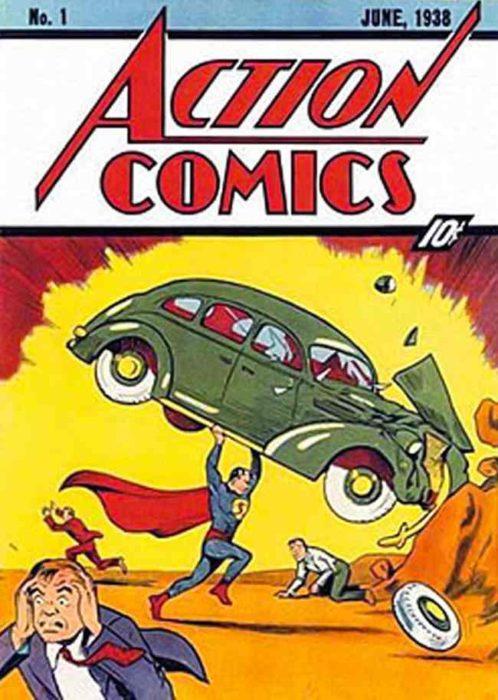 primera edición de un cómic