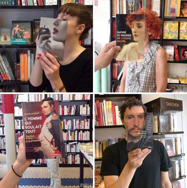 cuando los de la librería se aburren