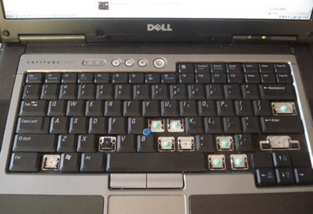 Computadora sin teclas