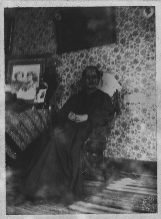 abuela fotografías perturbadoras
