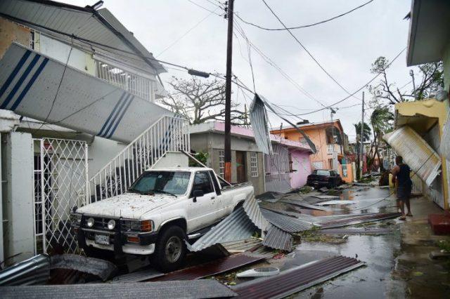devastador huracán maría