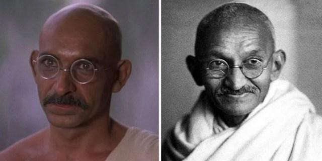 Ben Kingsley Mohandas Koramchand Gandhi