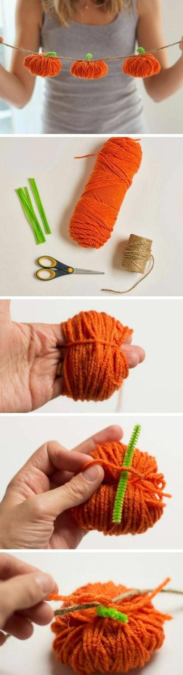calabaza naranja Halloween iniciativas DIY