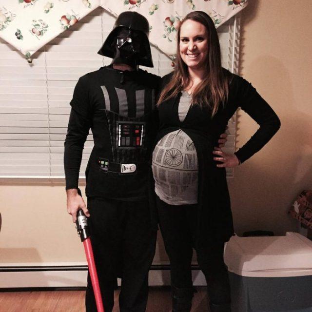 el lado obscuro embarazada