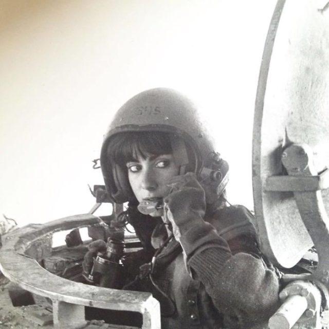 Padres cool instructora en un tanque