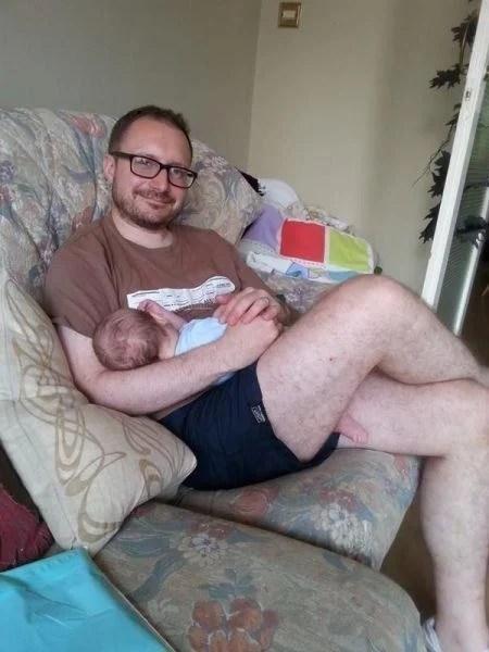 Tranquilo sólo es el pie del bebé