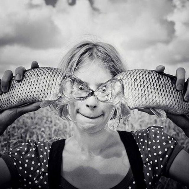 ojos pescado